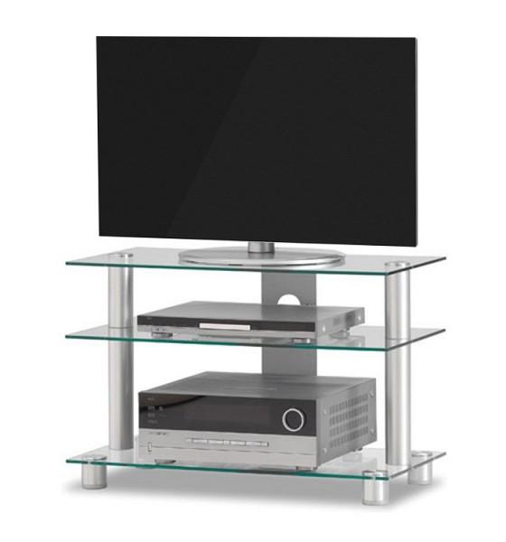 Just-Racks TV8553-AL-KG klarglas