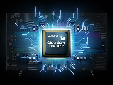 Samsung Q90R Quantum Prozessor 4k
