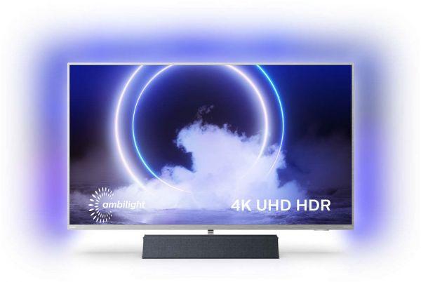 Philips 43 PUS 9235/12 | 4K Ambilight TV mit B&W Soundbar