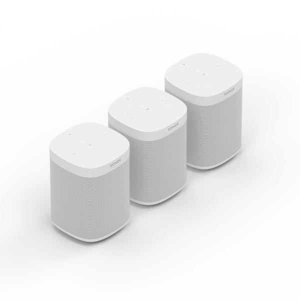 Sonos One 3er Bundle (3 Stück) weiß