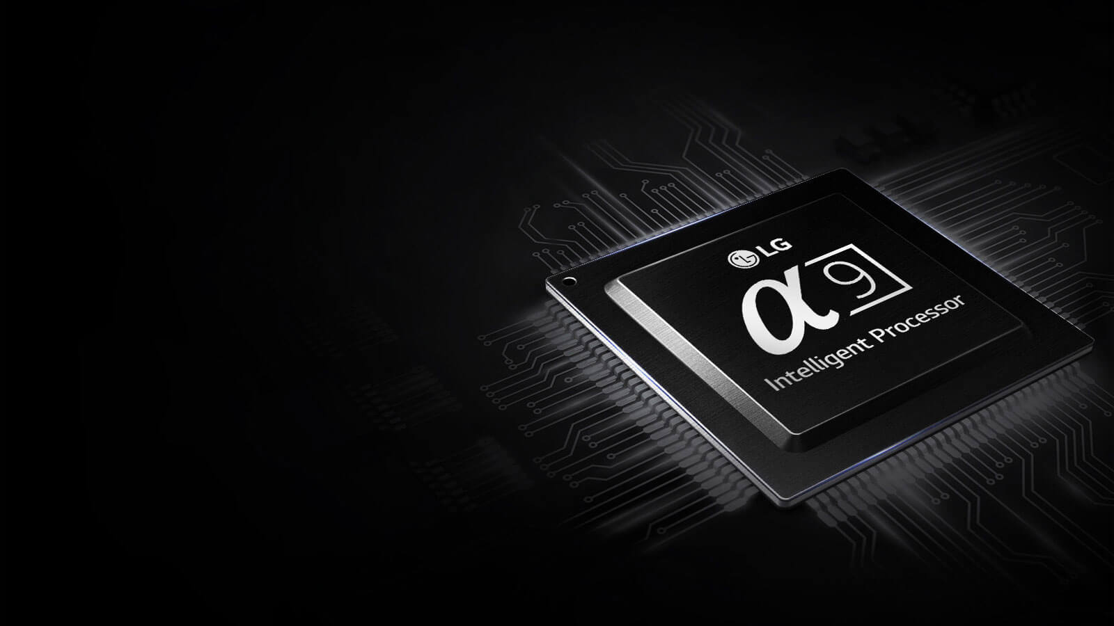 LG OLED alpha9 Prozessor