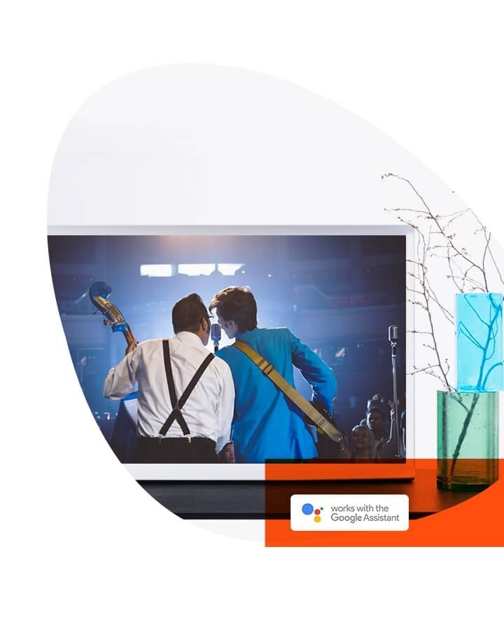 Serif TV mit Google Assistant