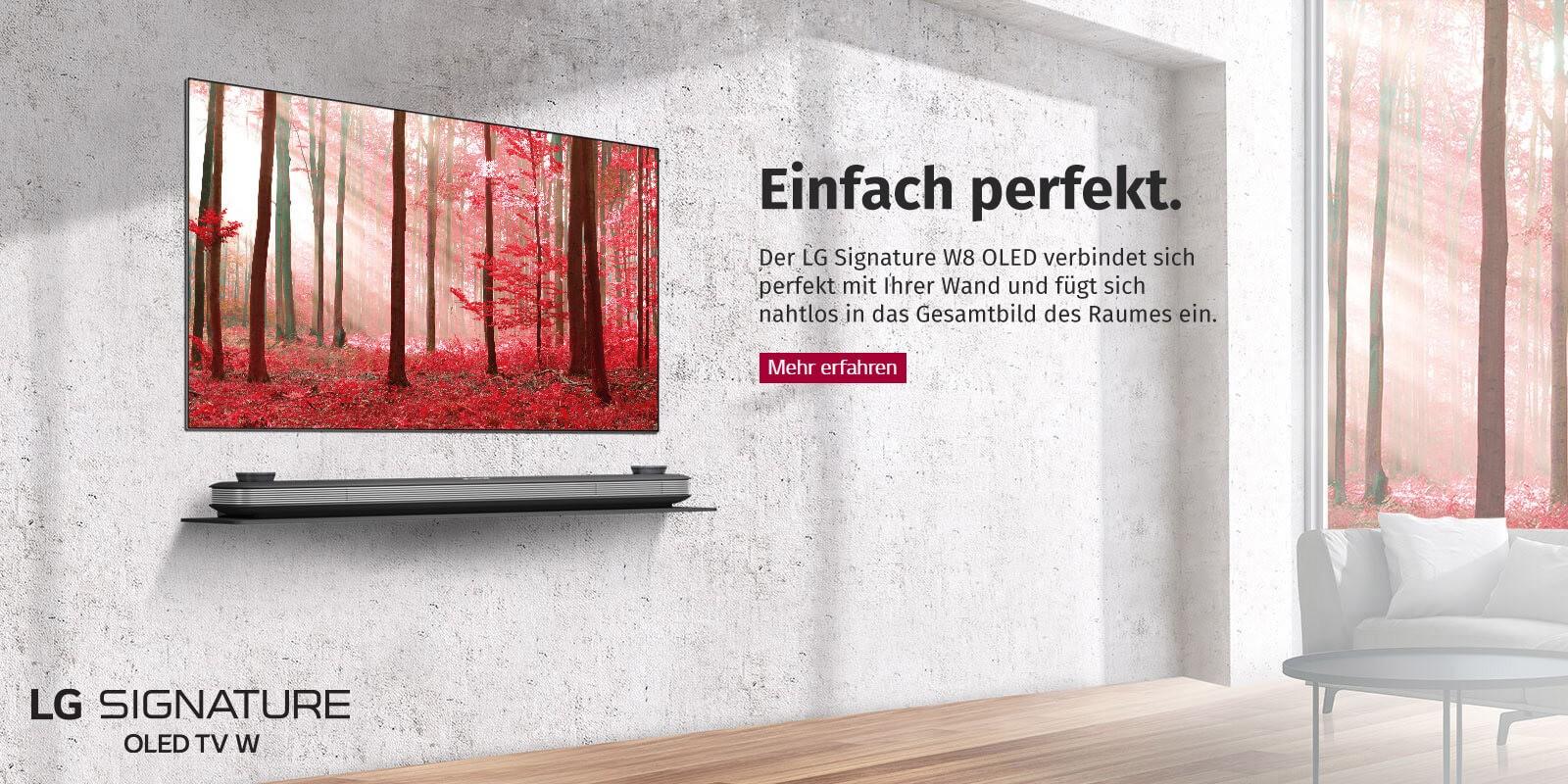 LG Fernseher - Signature W8 OLED