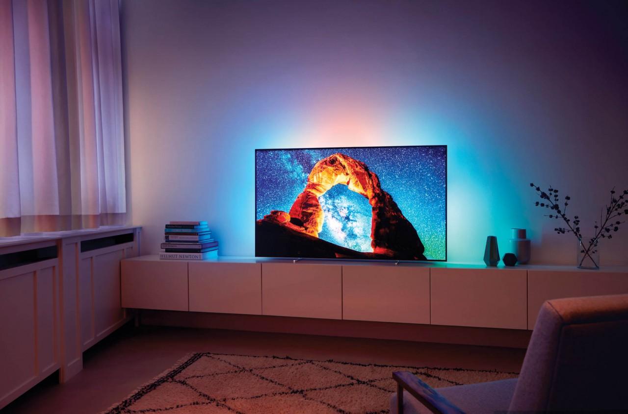 Philips TV OLED 803 in Plauen