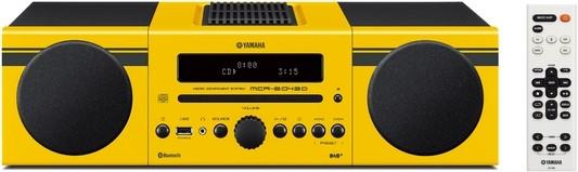 Yamaha MCR-B043D Mikro-Komponentensystem gelb