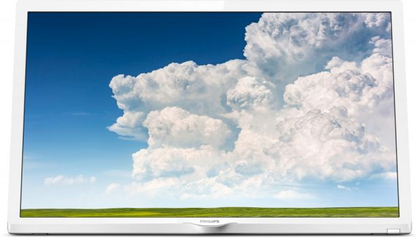 "Philips 24 PHS 4354/12 - HD-Ready TV | 24"" (60cm) weiß"