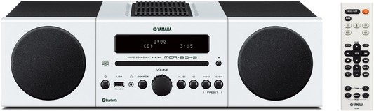 Yamaha MCR-B043 Mikro-Komponentensystem weiß