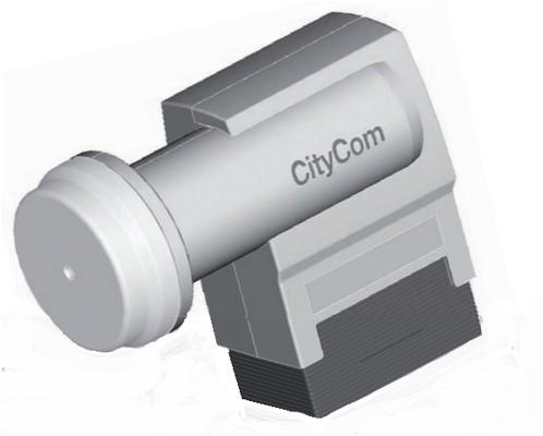 Kathrein CCL 440 Quattro-LNB weiß   gebraucht