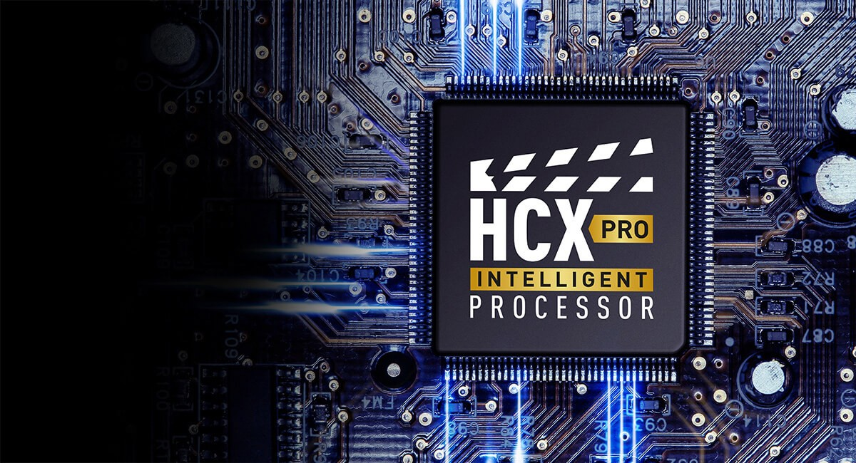 Panasonic HCX Pro Prozessor