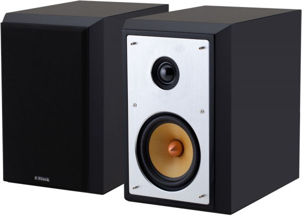 Block S-50 Lautsprecher schwarz
