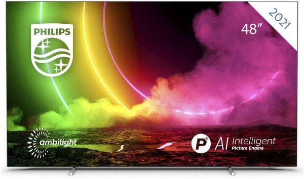 """Philips 48 OLED806/12 - 4K Ambilight OLED-TV   48"""" (121cm)"""