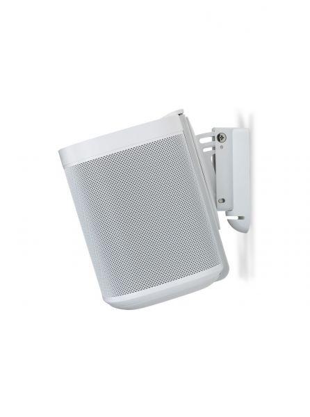Flexson Wandhalterung für Sonos One, 4er Set (4 Stück) weiß
