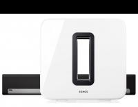 Sonos 3.1 Heimkino Set - Playbar und Subwoofer weiß
