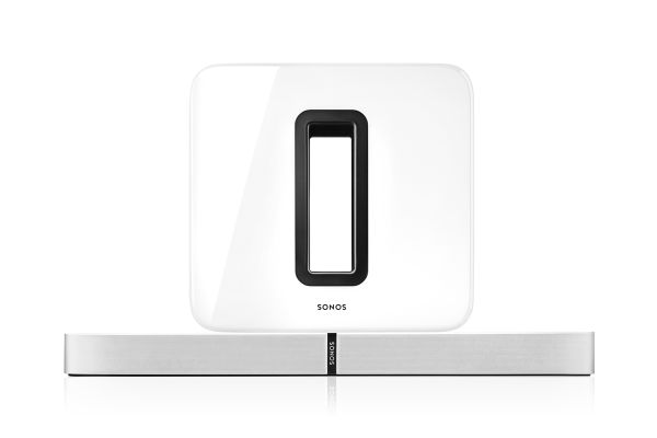 Sonos 3.1 Heimkino Set - PLAYBASE und Subwoofer weiß
