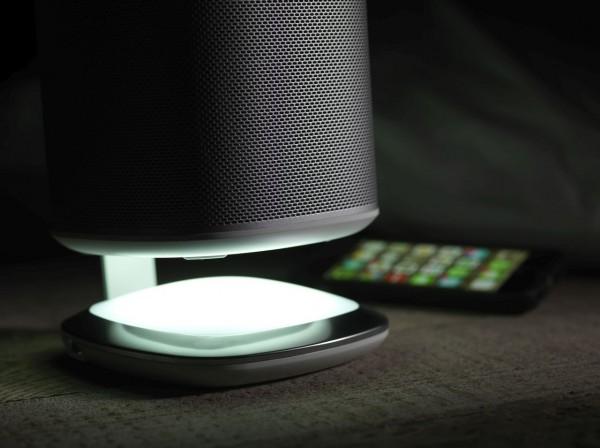 Flexson Desk Stand -leuchtend- für Sonos Play 1, Stück weiß