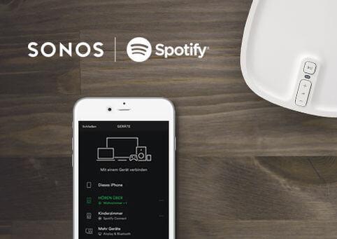 Sonos und Spotify