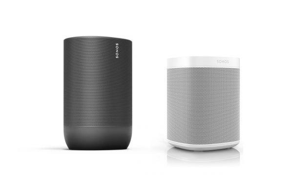 Sonos Indoor Outdoor Set mit Move und One weiß