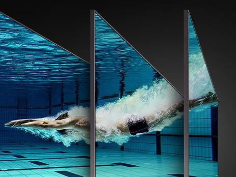 Samsung Q90 Betrachtungswinkel