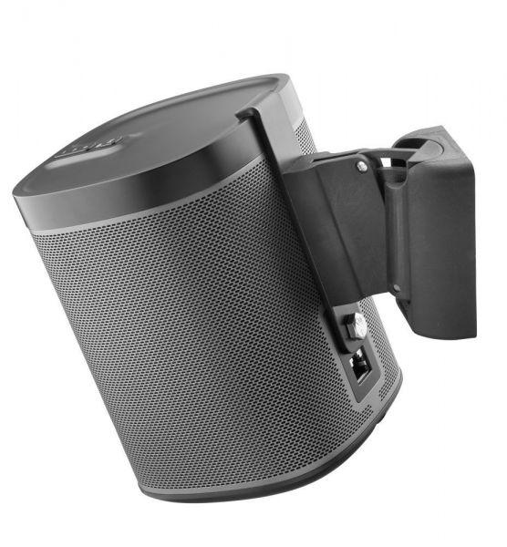 Cavus Wandhalter für Sonos Play 1, Stück CMP1B-SET Paar schwarz