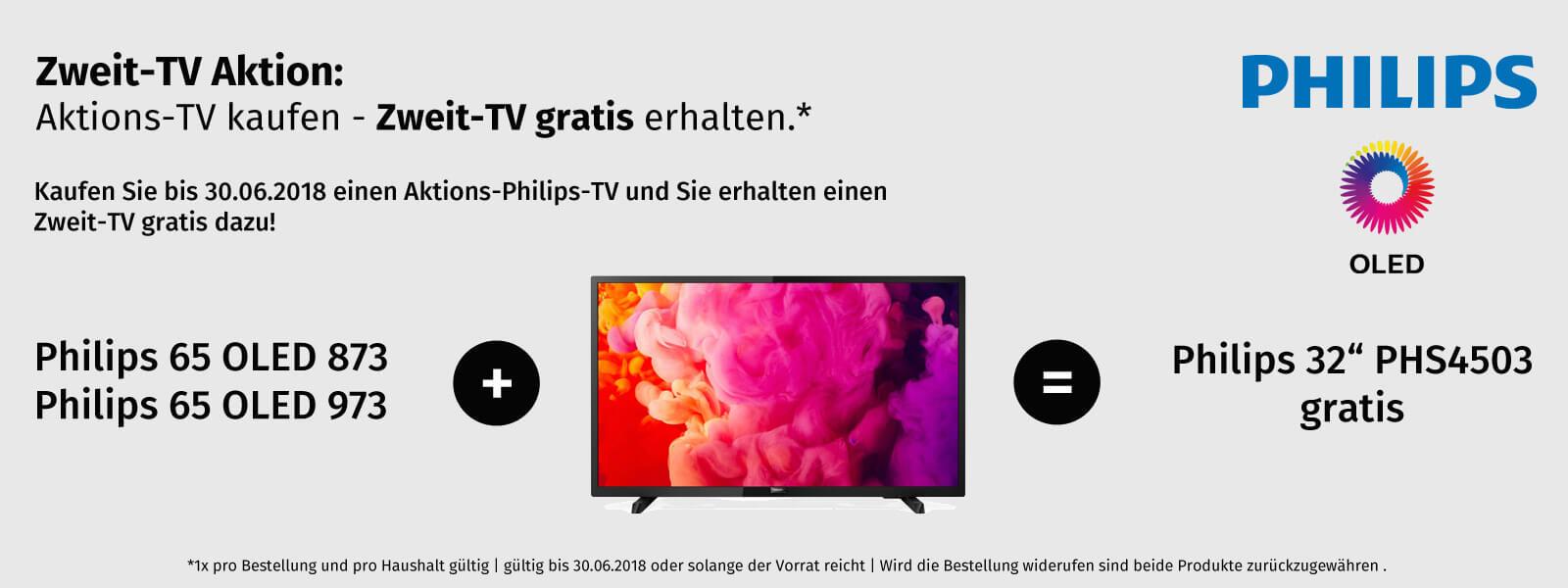 Philips TV kaufen - Zweit TV gratis