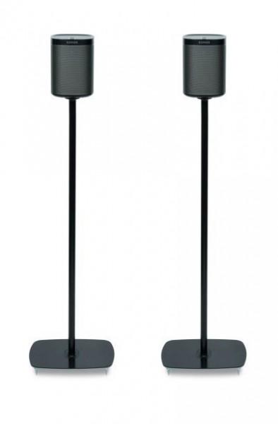 Flexson Standfuß / Stativ für Sonos Play 1, Paar schwarz