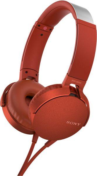 Sony MDR-XB550AP rot | gebraucht