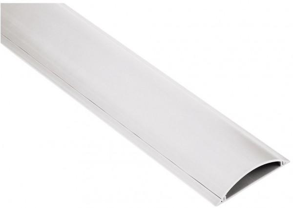 Hama PVC-Kabelkanal halbrund 100/9/2,1cm weiß