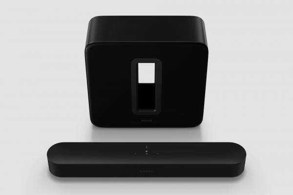 Sonos 3.1 Heimkino Set mit Beam (Gen2) + Sub (Gen3) schwarz