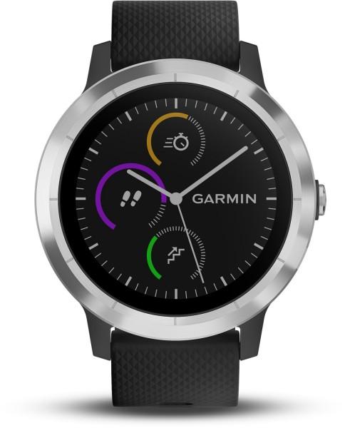 Garmin vivoactive 3 schwarz/silber